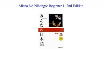 Minna no Nihongo Beginner 1 2nd edition